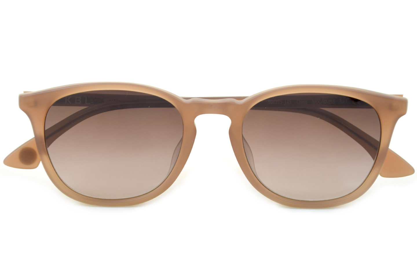 Light taupe coloured sunglasses from KBL eyewear model Wishlist 1.395 d.kr.