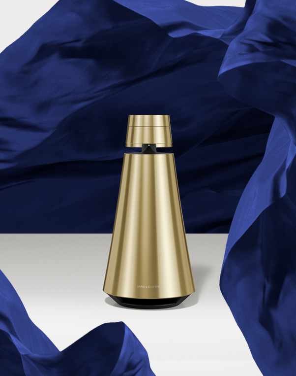 bang & olufsen beosound 01 part of their multiroom collection.. Here in the brass version.