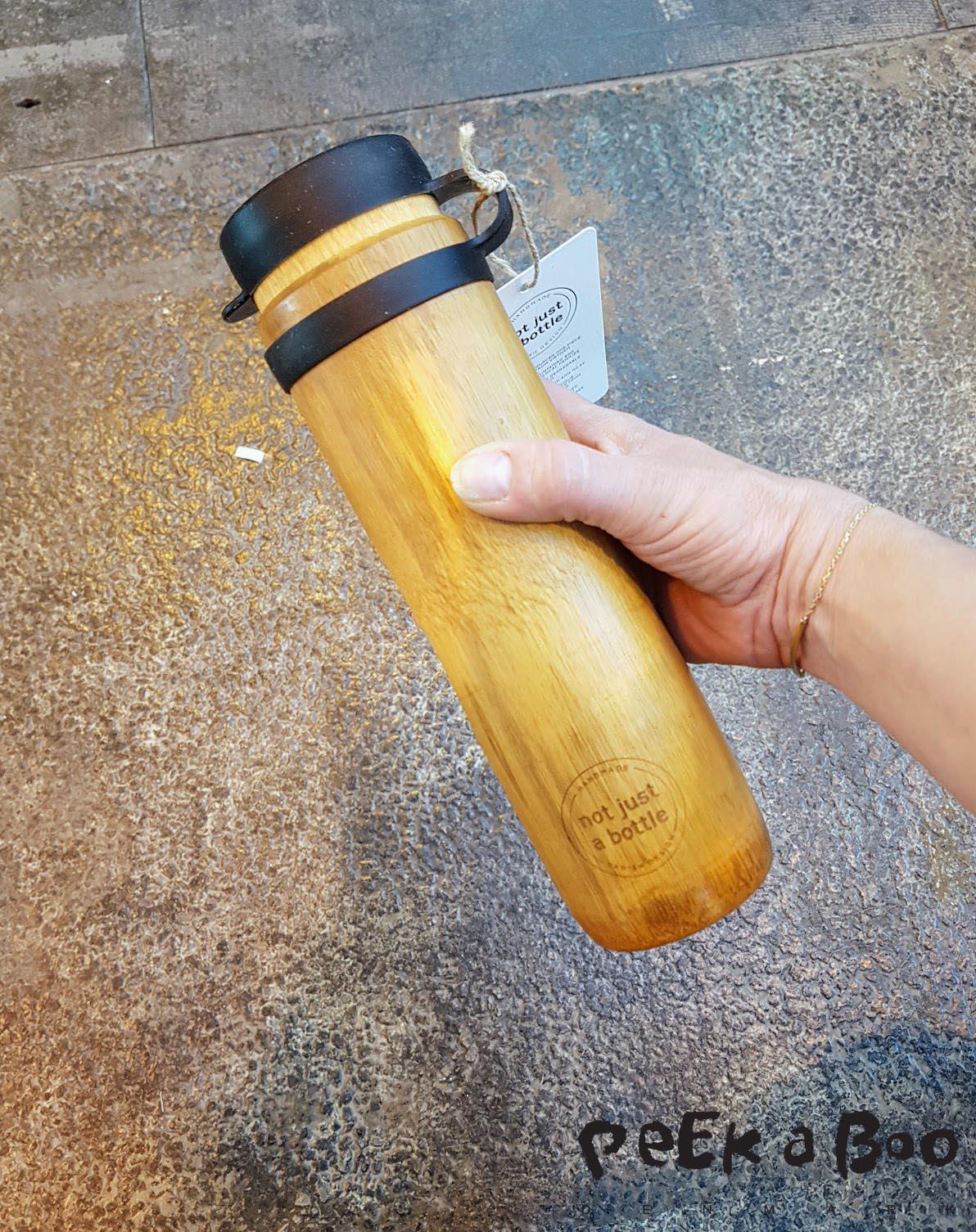 not just a bottle, er en ny type drikkedunk.