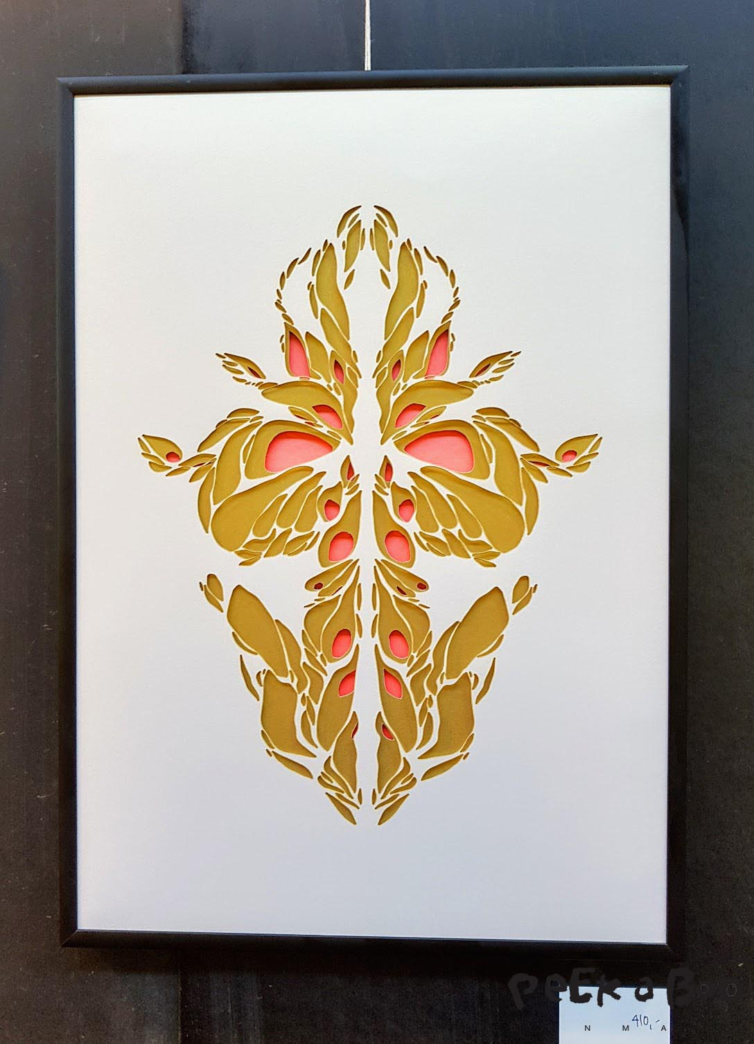 Vicki Zoé unikke kunstværker i papirklip.