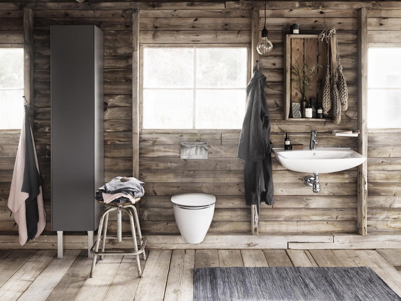 Drømmen af et badeværelse i sommerhuset fra danske Ifø.