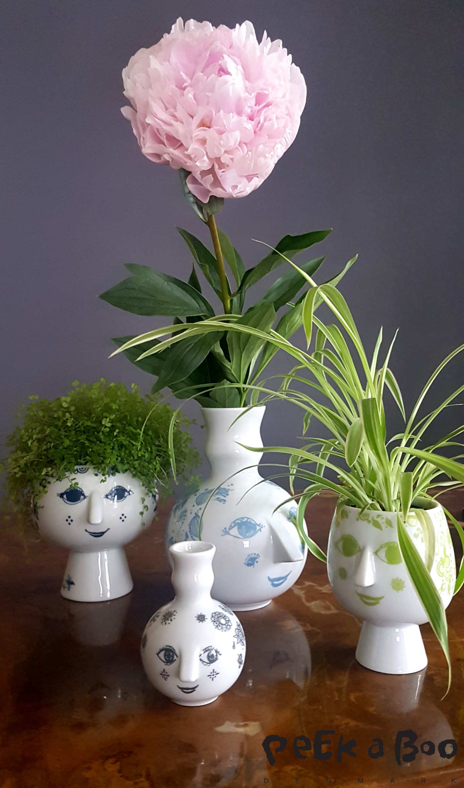 A huge selection of the pots and vases from Wiinblad.