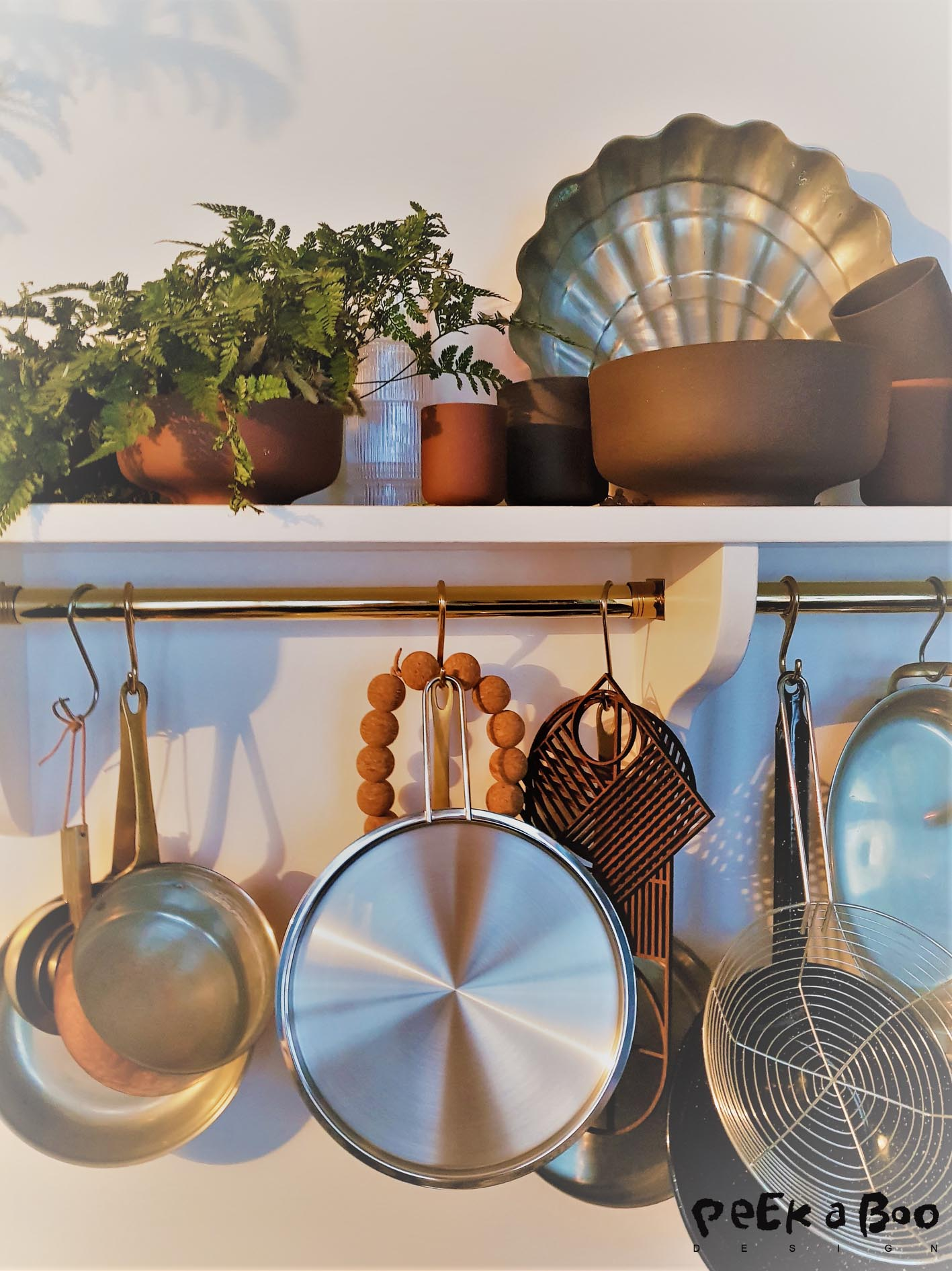 Details from the kitchen of Ferm Livings showroom.