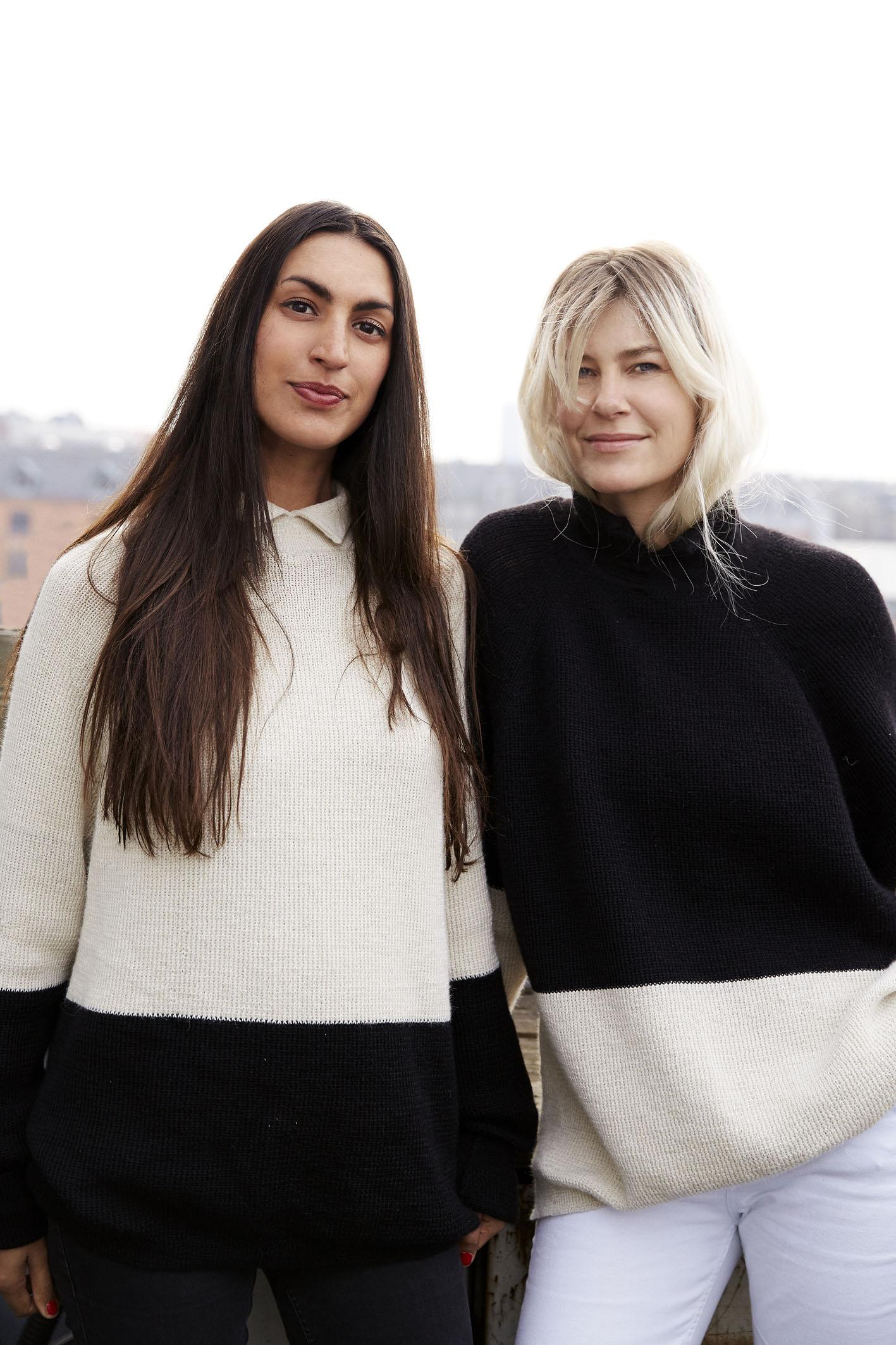 The founders og Carcel Louise van Hauen and .Veronica d'Souza