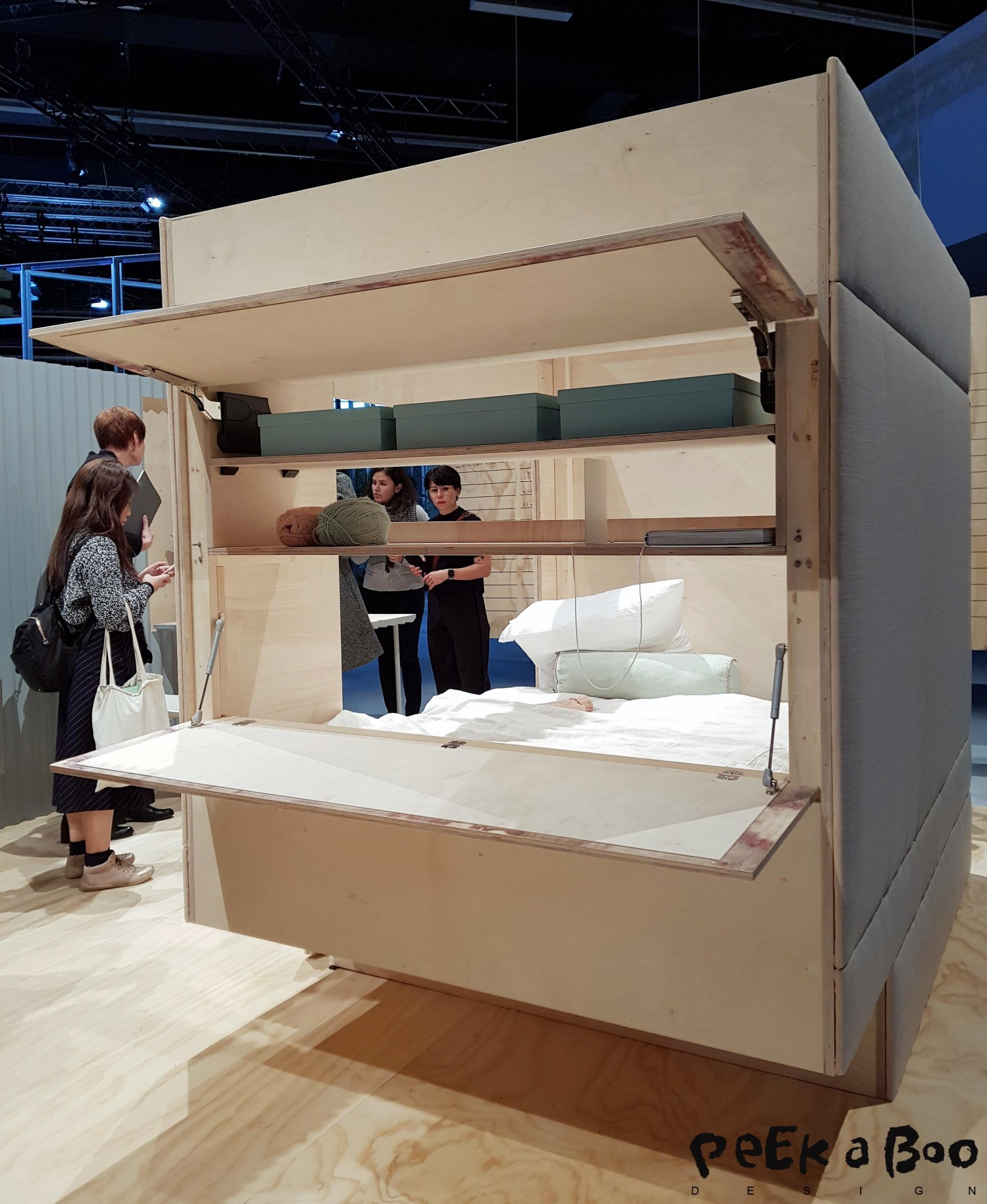 micro living modules designed to be reconfigured.