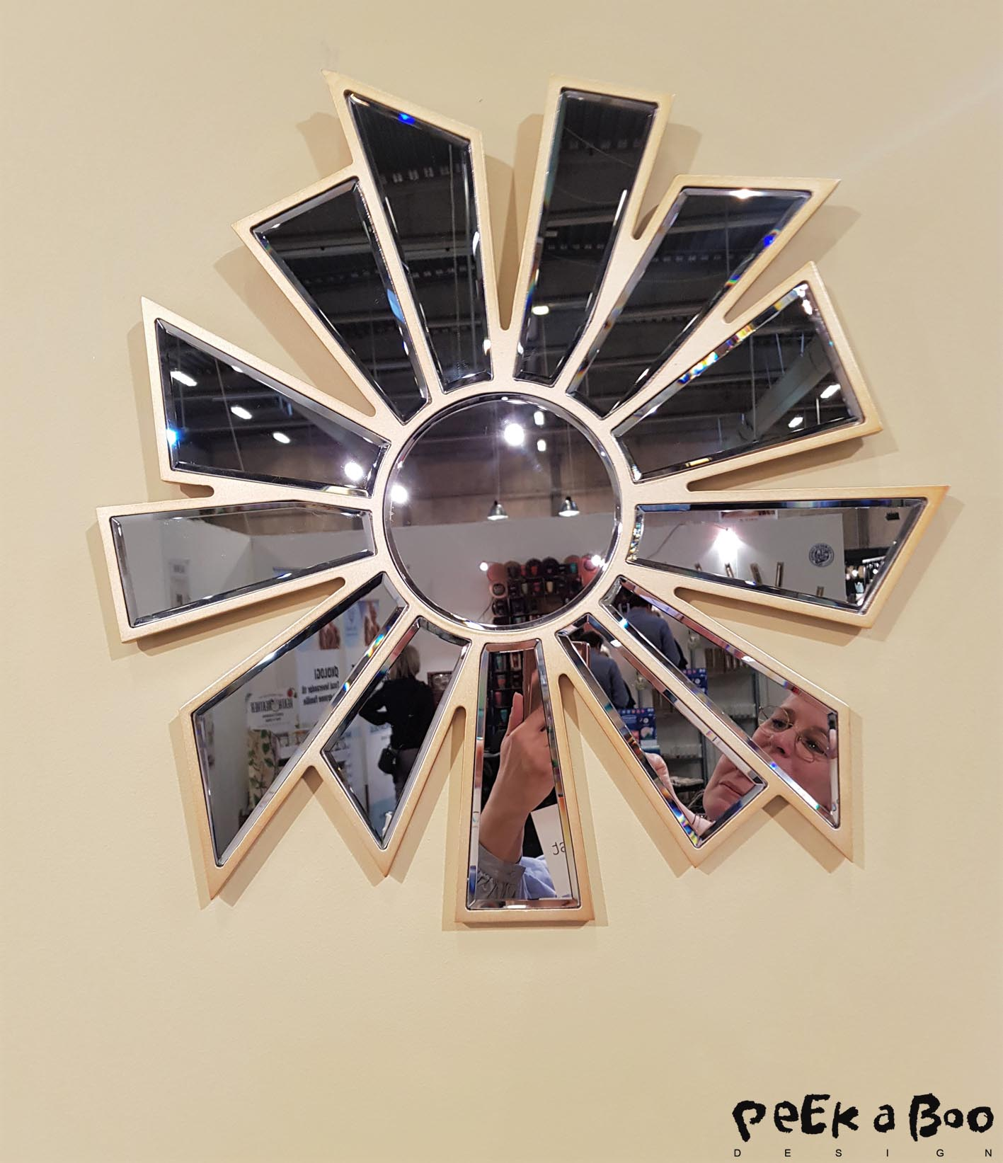 Another new danish brand is focusing on more is more...Eden outcast has made this star mirror.