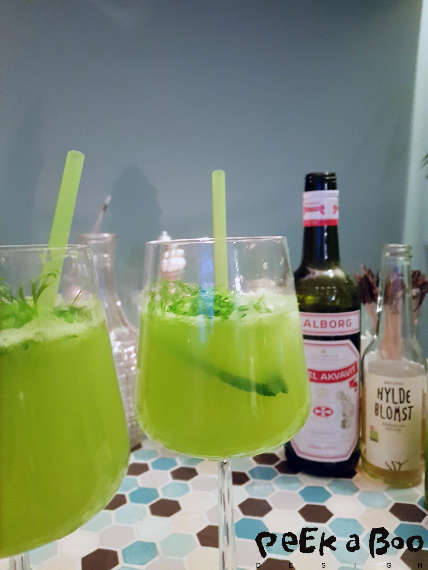 This weekend drink - Kermit delux