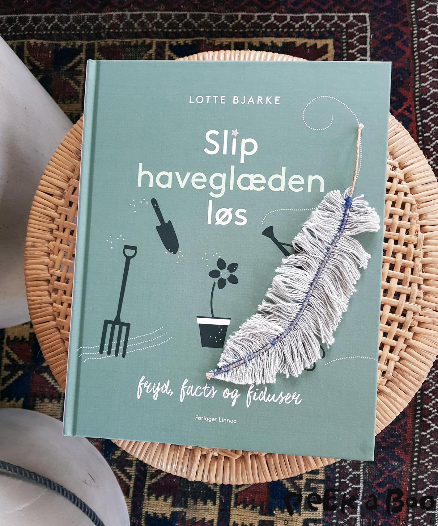 The new garden book from Lotte Bjarke. It is in danish and filled with inspiring photos.
