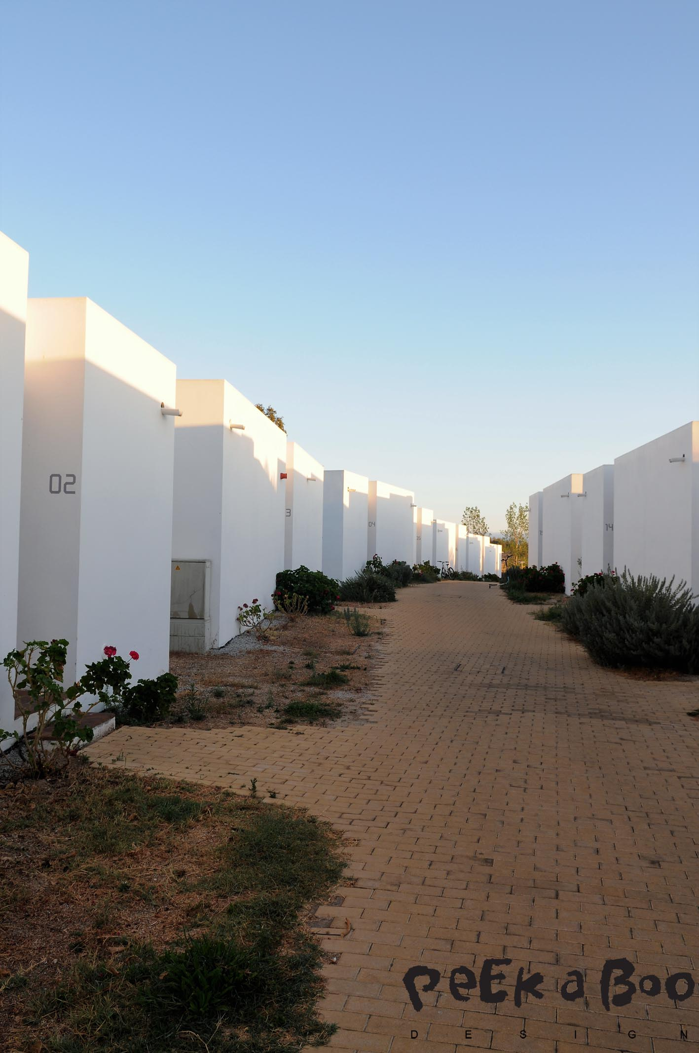 The hotel bungalows. They are situated just beside the hotel. and got at bedroom, livingroom, bathroom and terrace.
