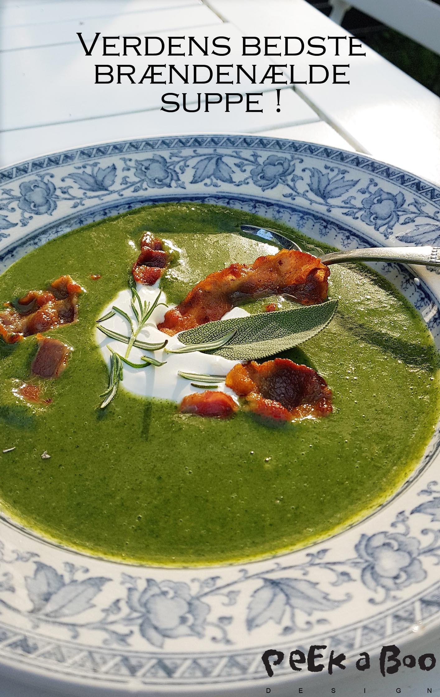 World's best nettle soup.
