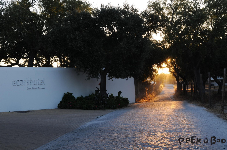 The Ecork hotel in Evora outside Lisboa, Portugal