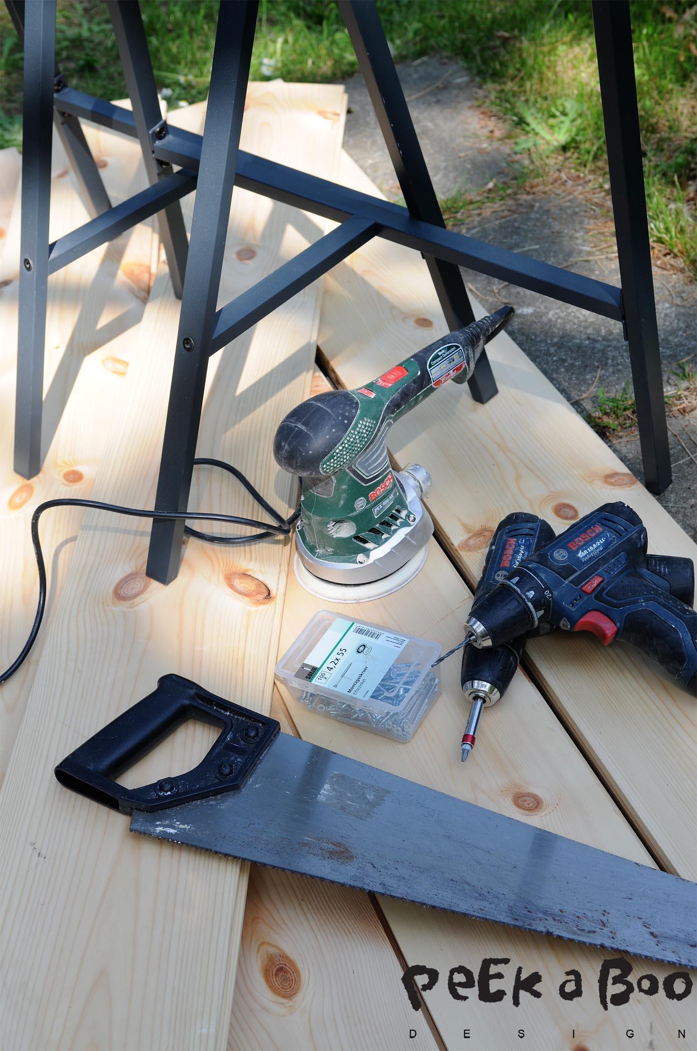 Dette skal du bruge til projekt DIY plankebord.