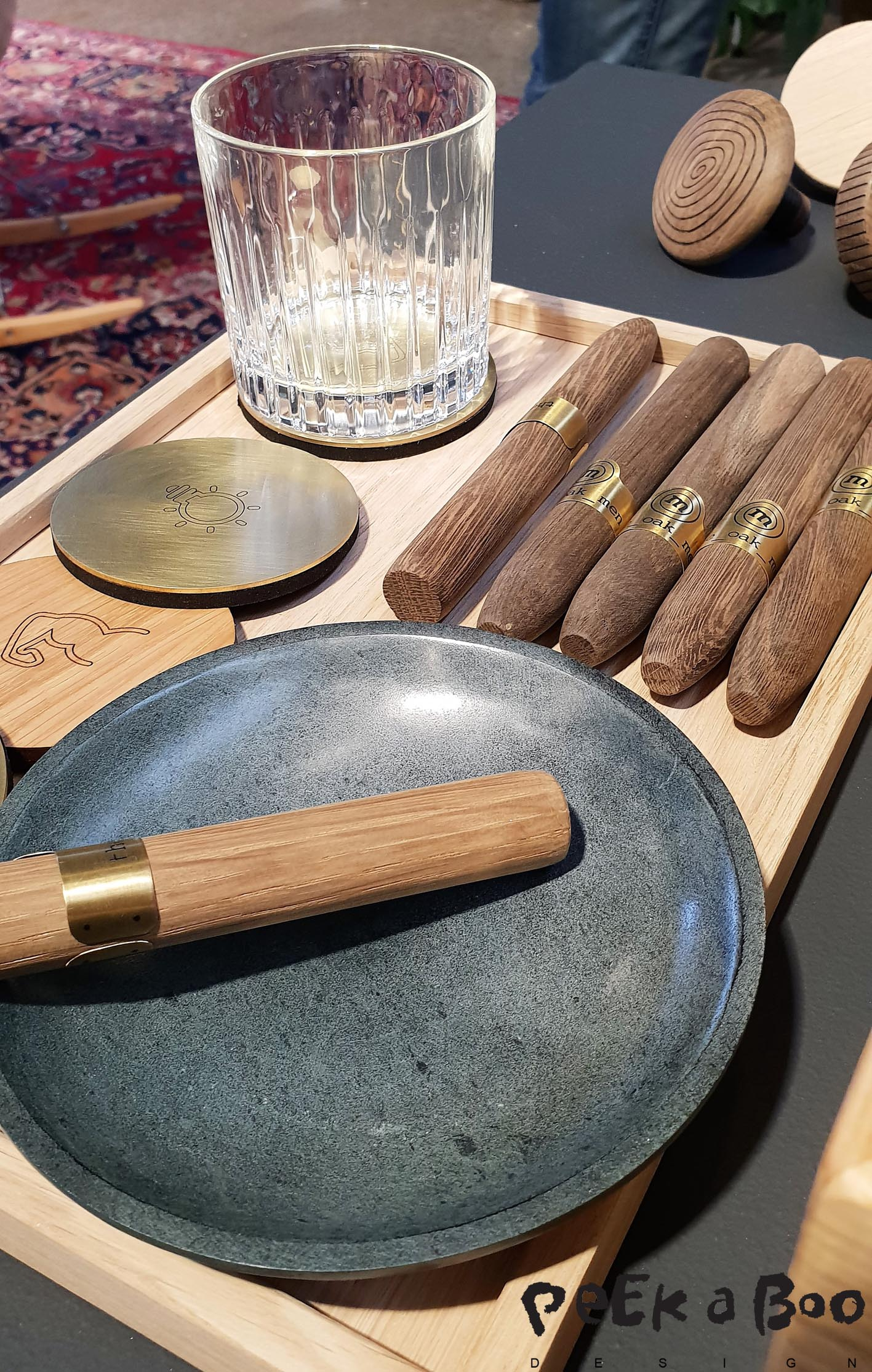 Have a cigar....it is not a Hannavian cigar but danish design cigar from Oak men.