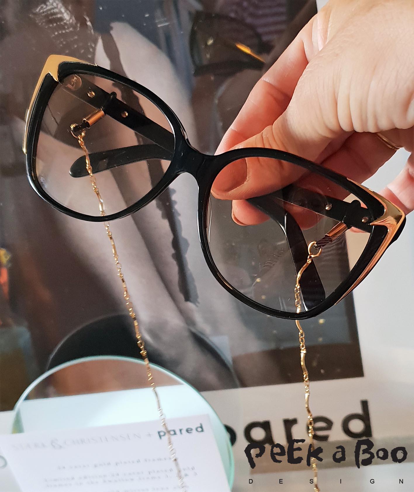 Staerk & Christensen design for pared eyewear.