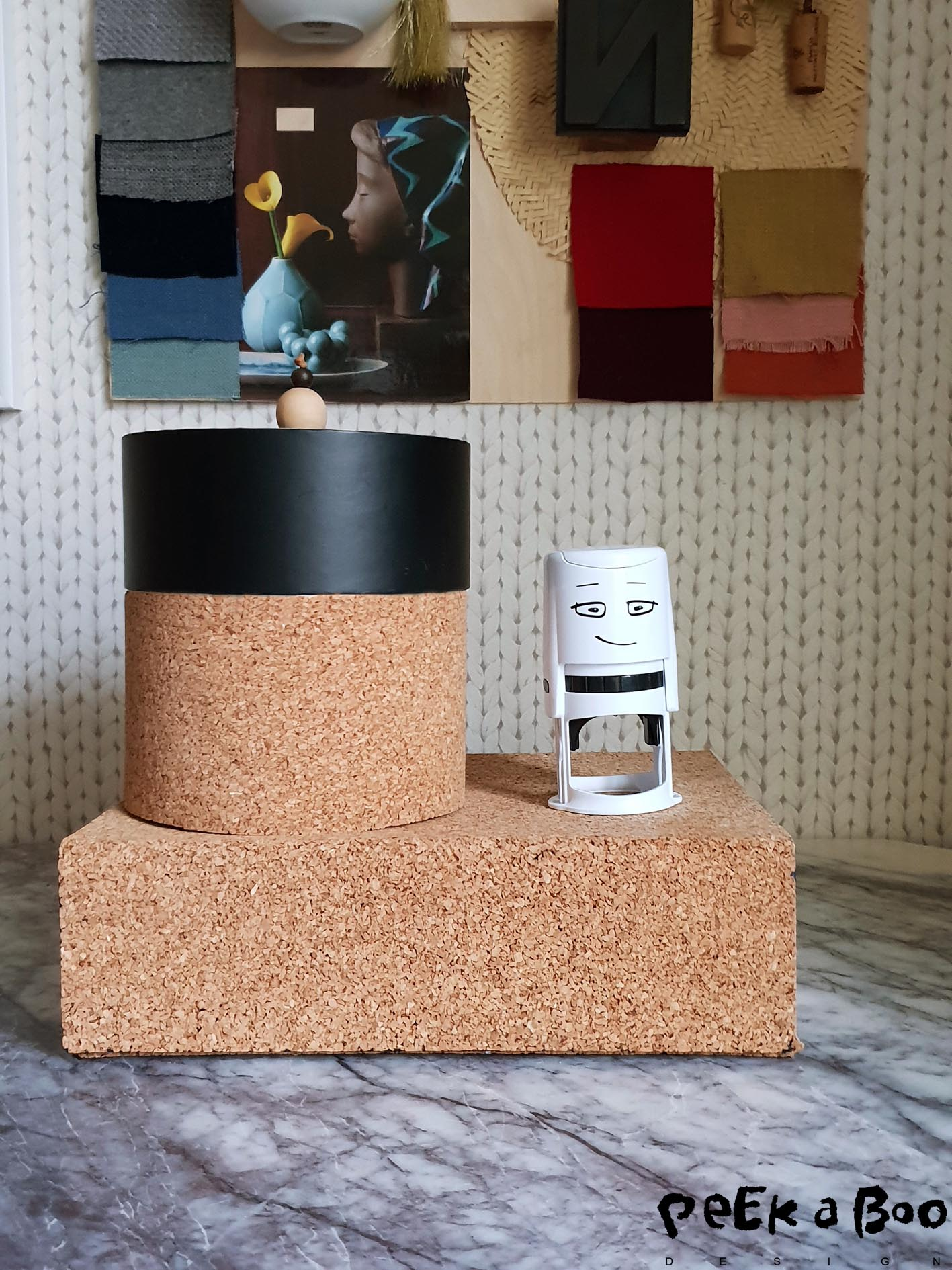 these DIY cork boxes are easy to make see how in an earlier blogpost.