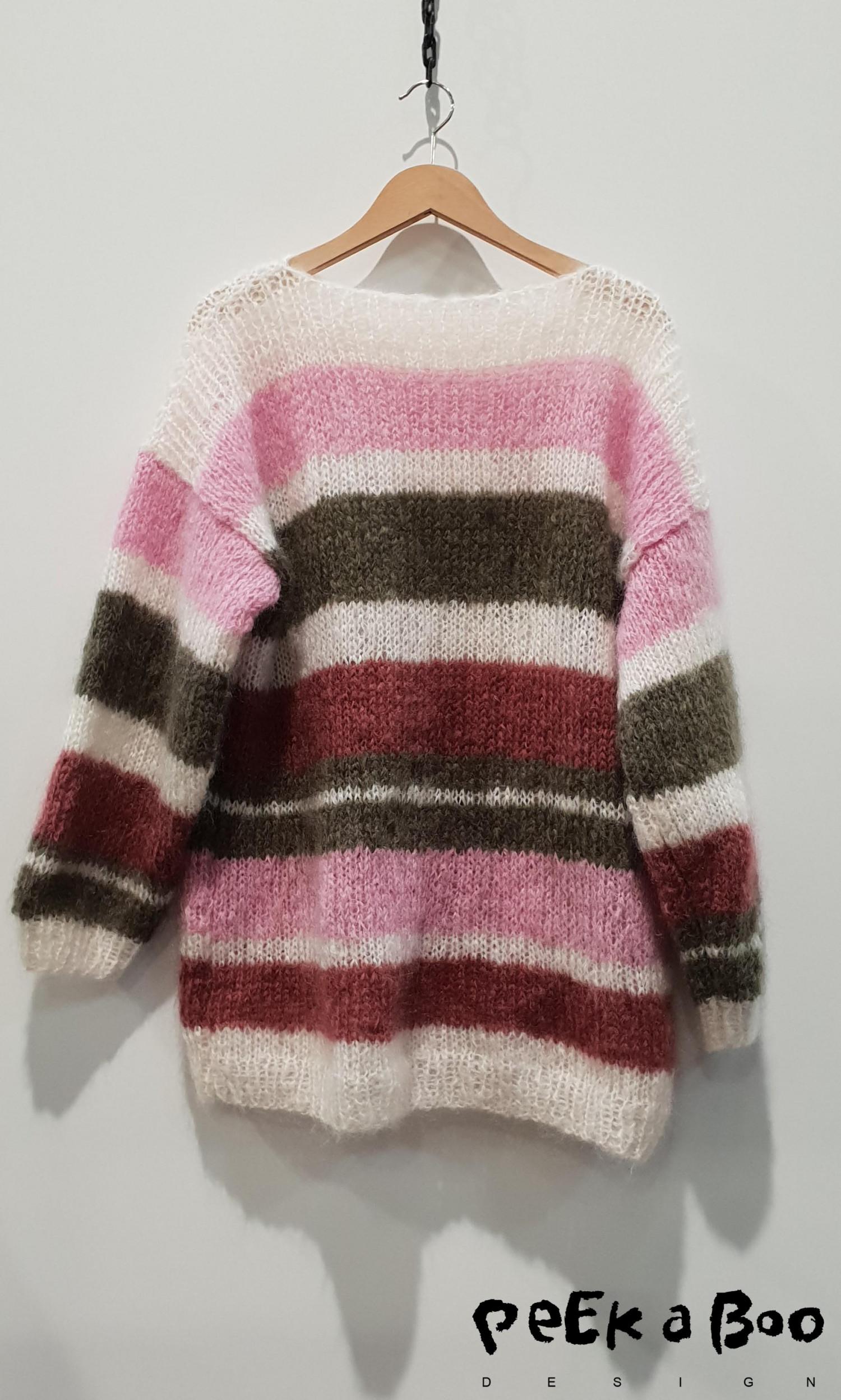 Wadils mohair knitwear. Den er mere klassisk , og vil helt sikkert blive en favorite i vintermånederne.