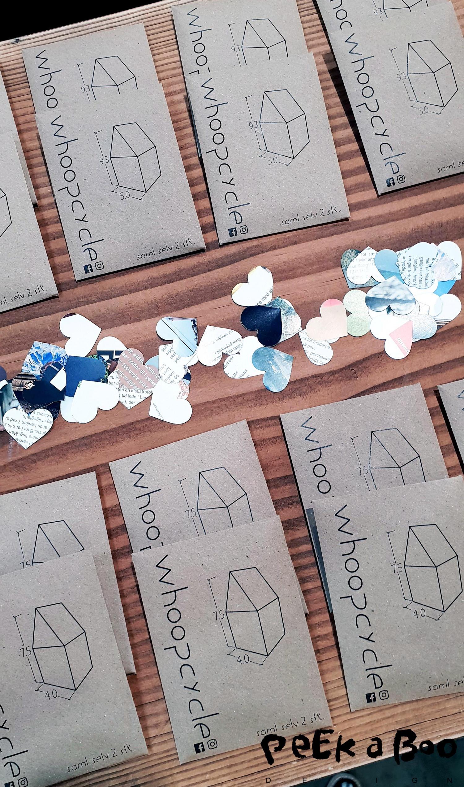Woopcycle upcycler papir til små DIY projekter.