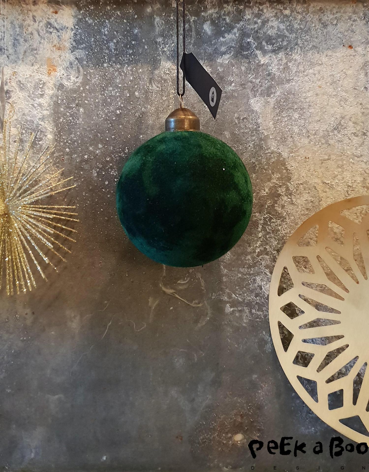 Er du til velour, så kan du i år finde julekugler med velour overflade...superfine fra House doctor.