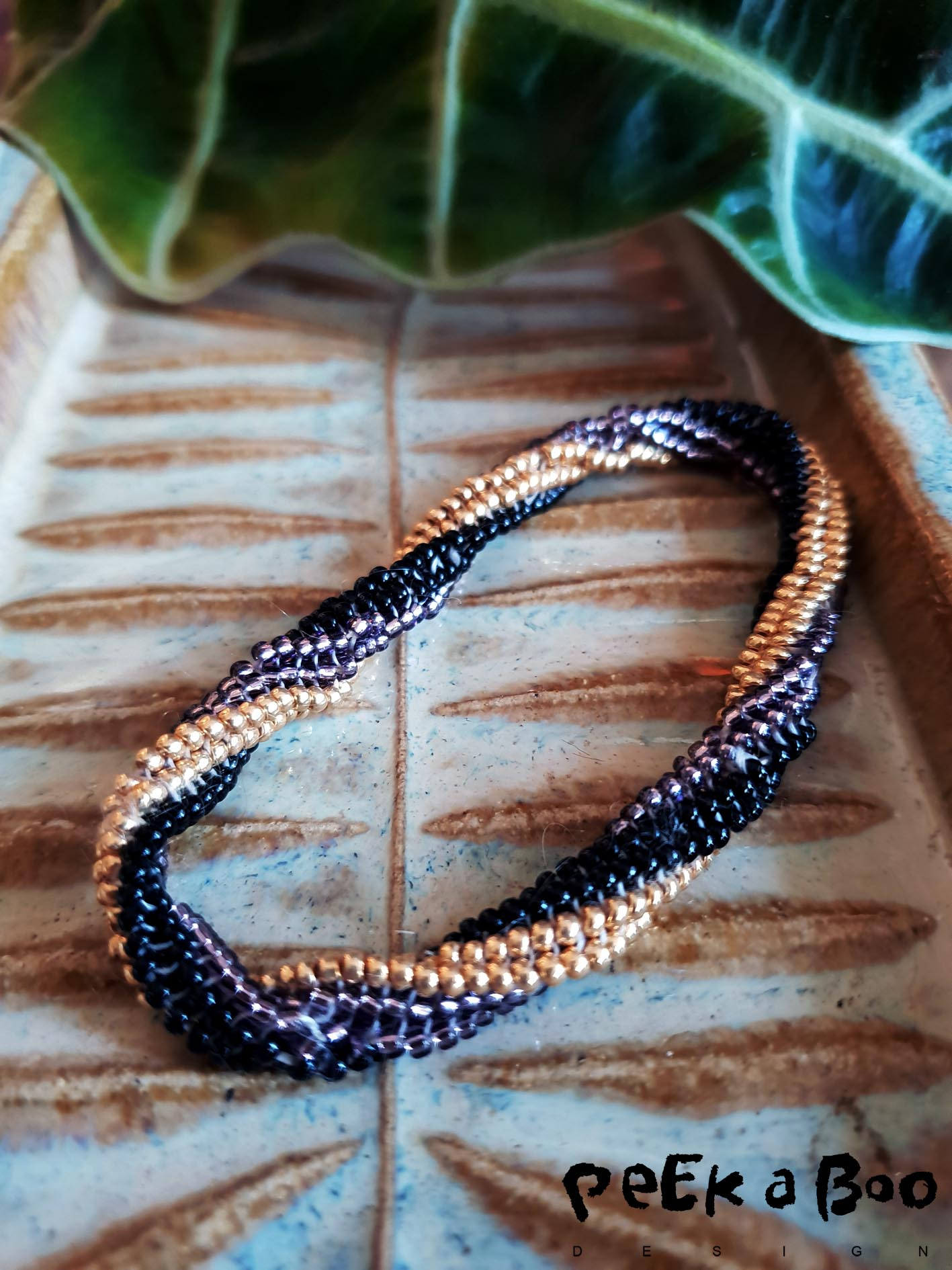 Tubelar twisted bangles... A fashionable DIY project
