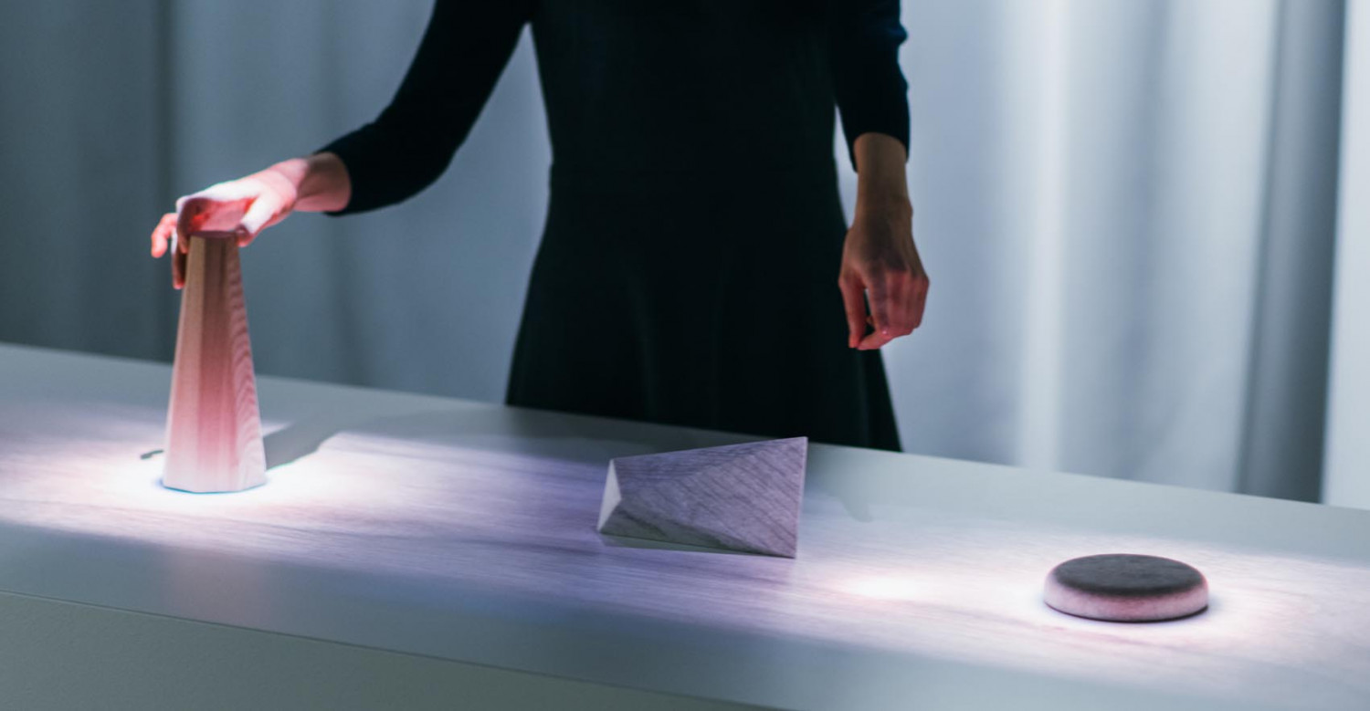 Hidden senses by Sony from Milan design Week 2018 set out to challenge the constraints between tochnology and human behavior.