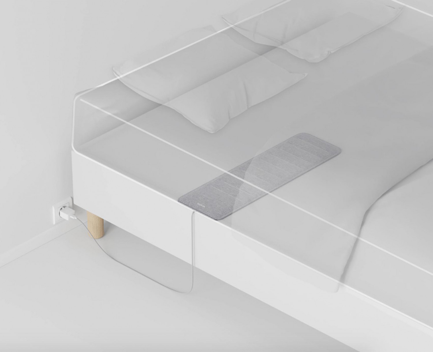 Nokia has made this sleep mattress it helps you track your heart rate, analyses your sleep cycles and detects snoring.