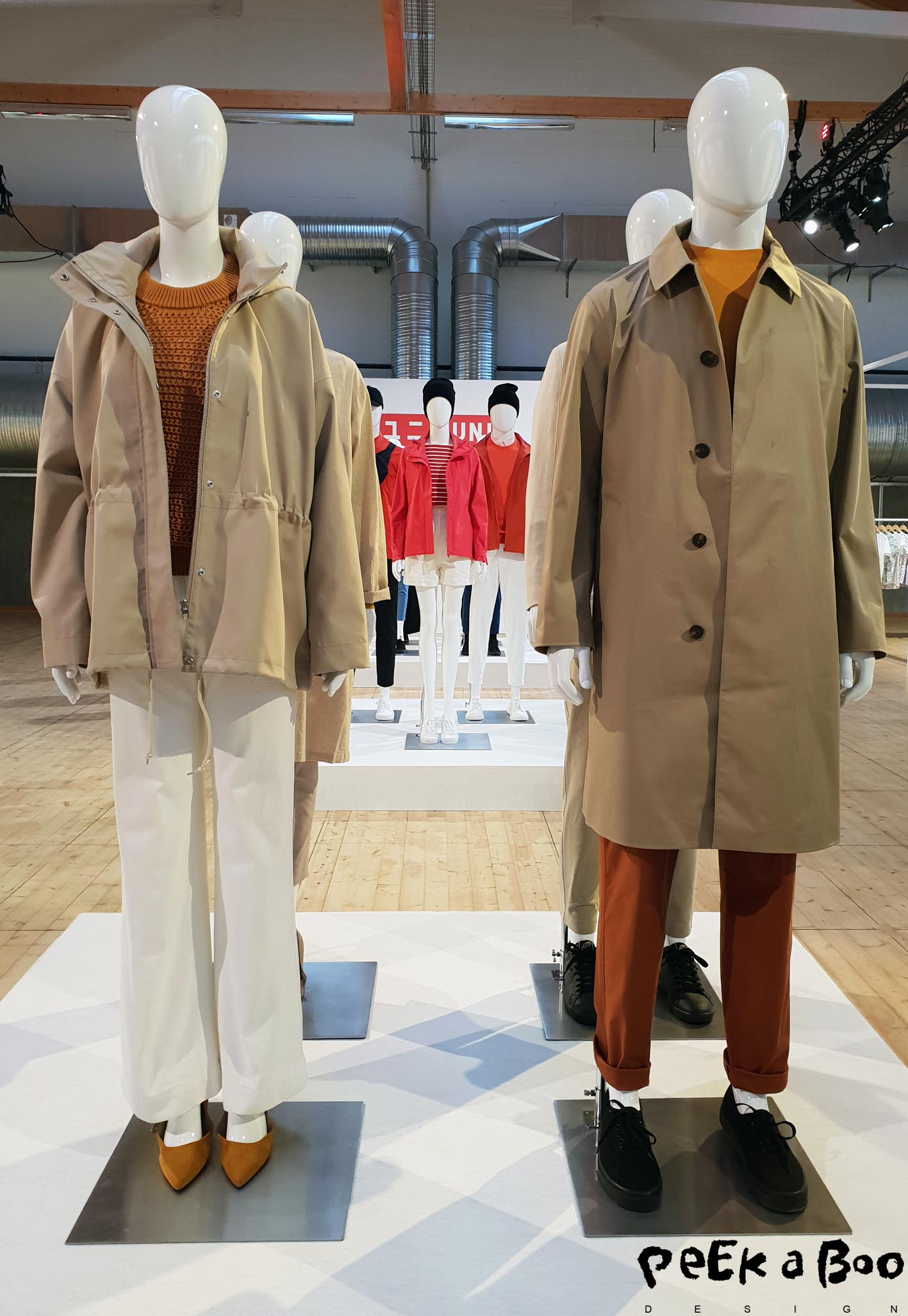 The designs from Uniqlo are all simple and functional. Their focus is on the hightech qualities and the classic longlasting designs.