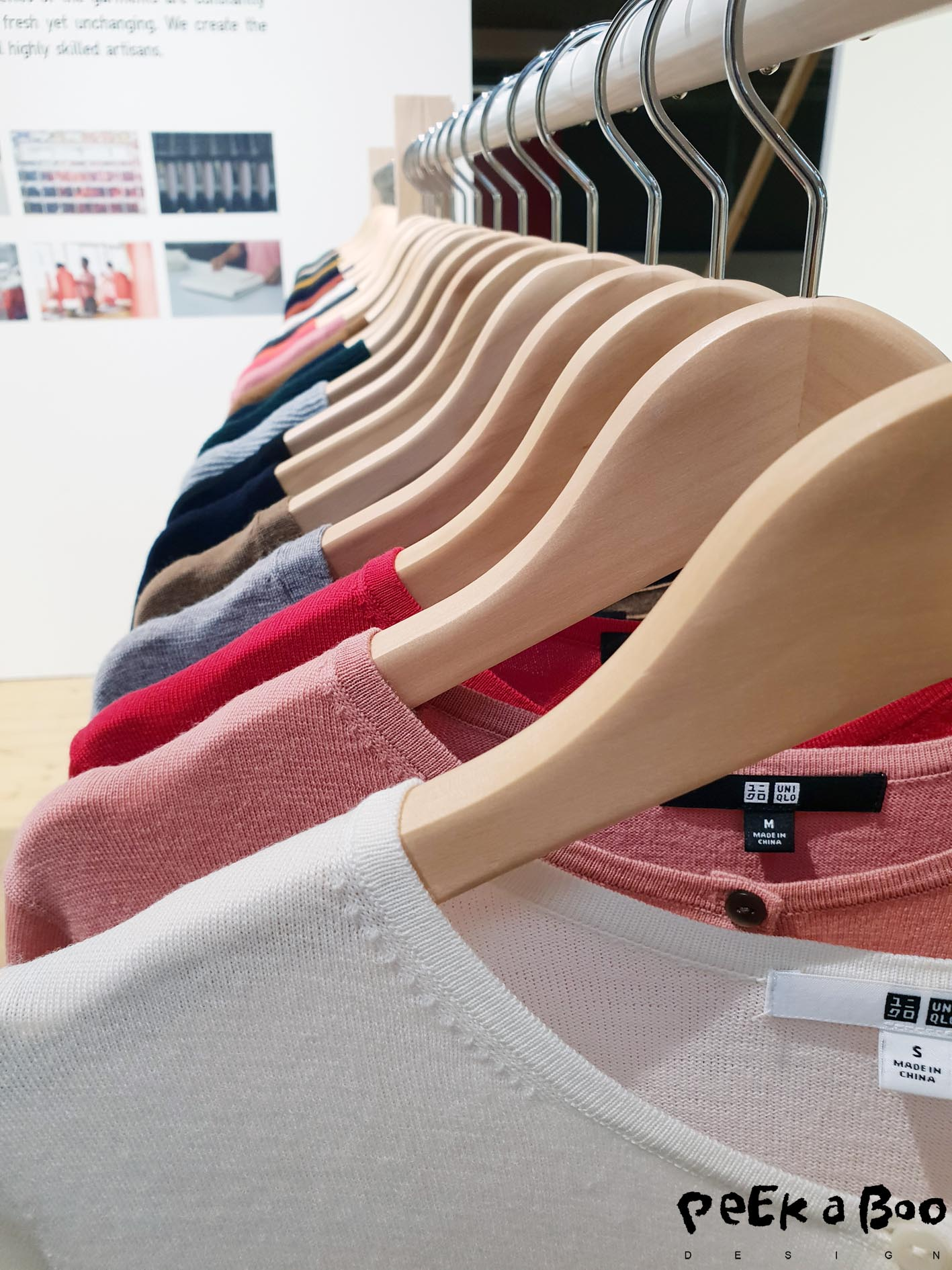 The knitwear is in highquality yarns and the colours are carefully choosen by their designteam.