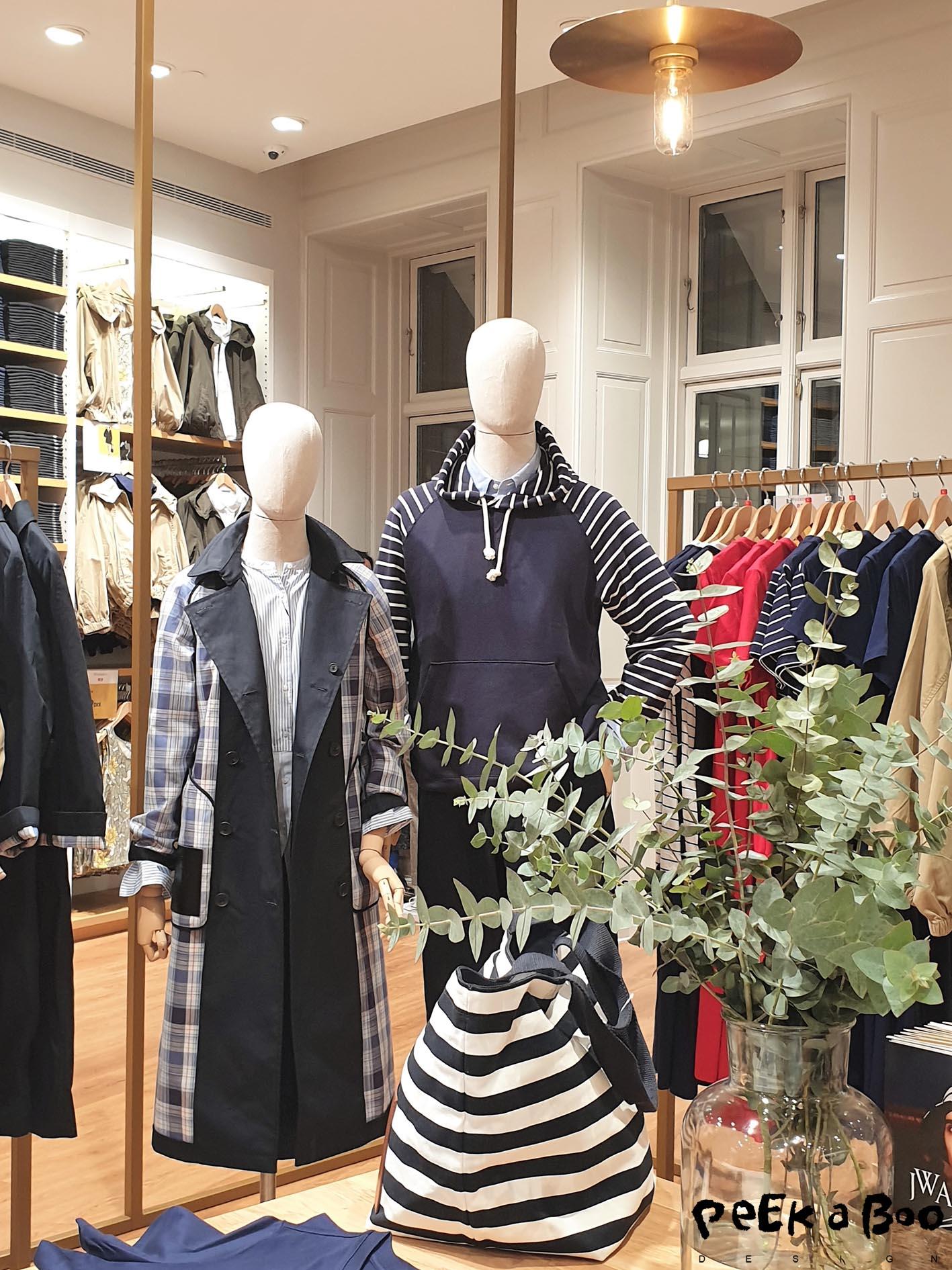 from the new Uniqlo store in Copenhagen.
