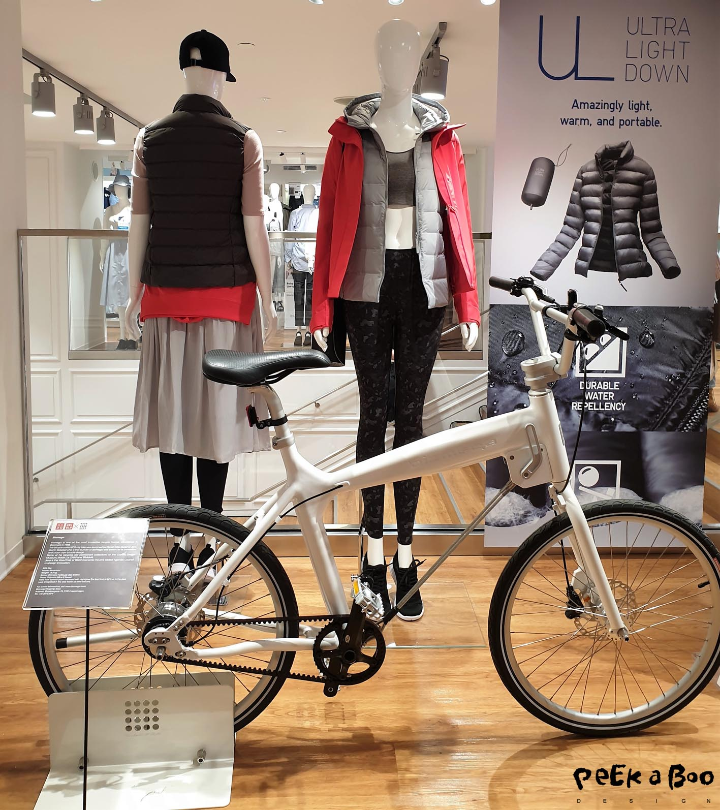 They have made some co-operations with danish brands such as Biomega bikes. Because bikes are such an integrated part of our urban lifestyle.