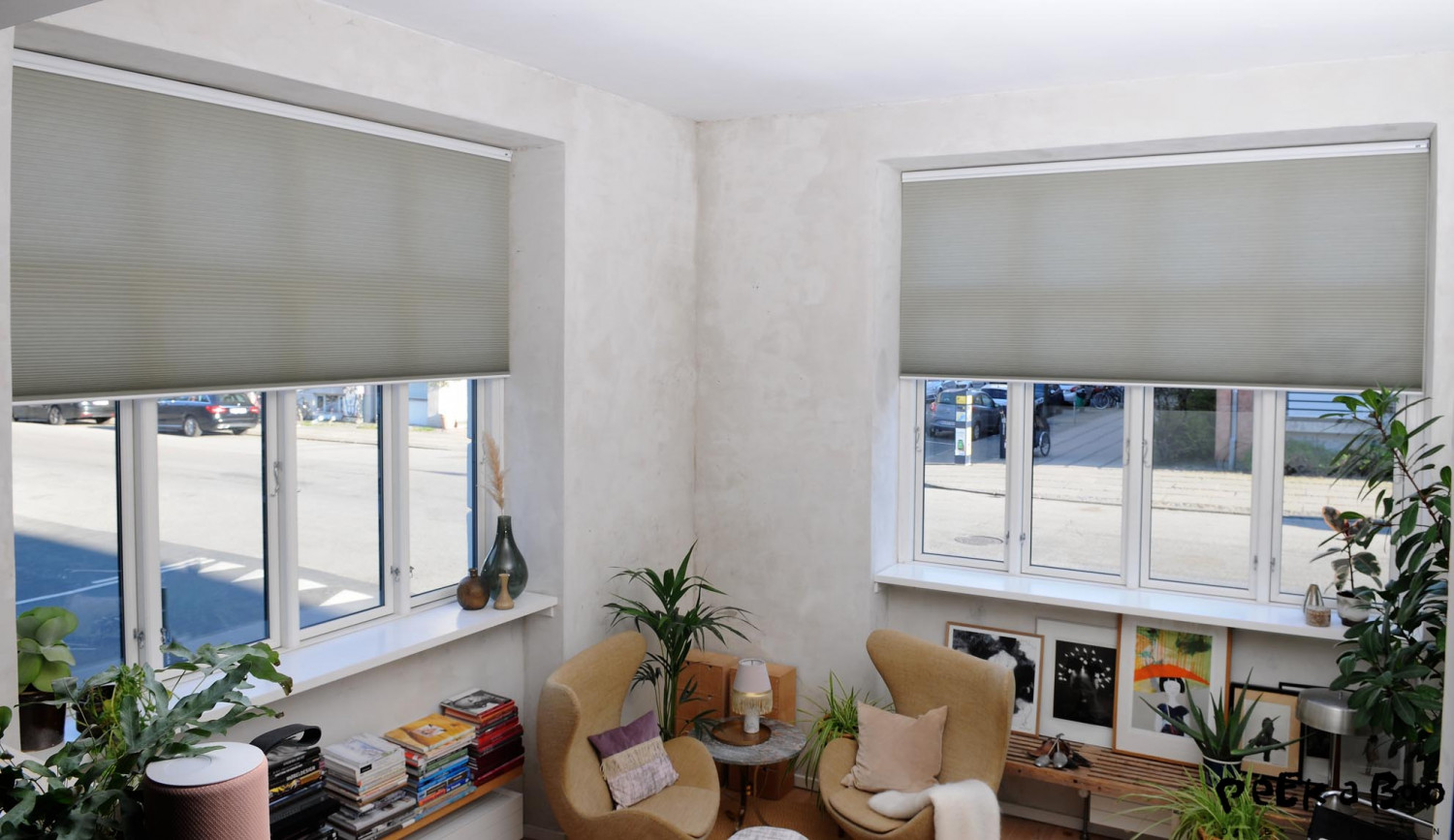 Automized and costumemade blinds from Luxaflex.
