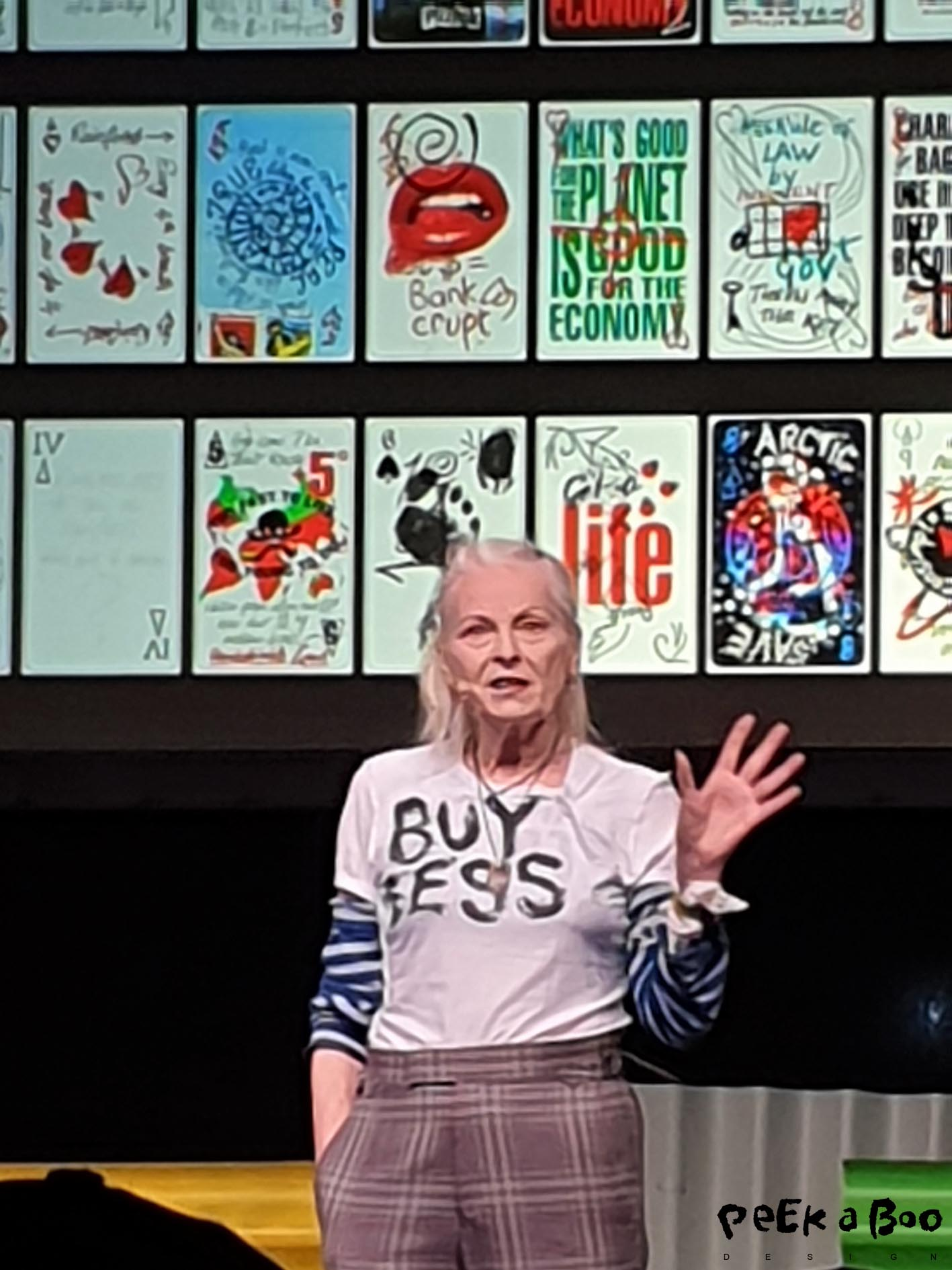 Vivienne Westwood at Heartland festival 2019