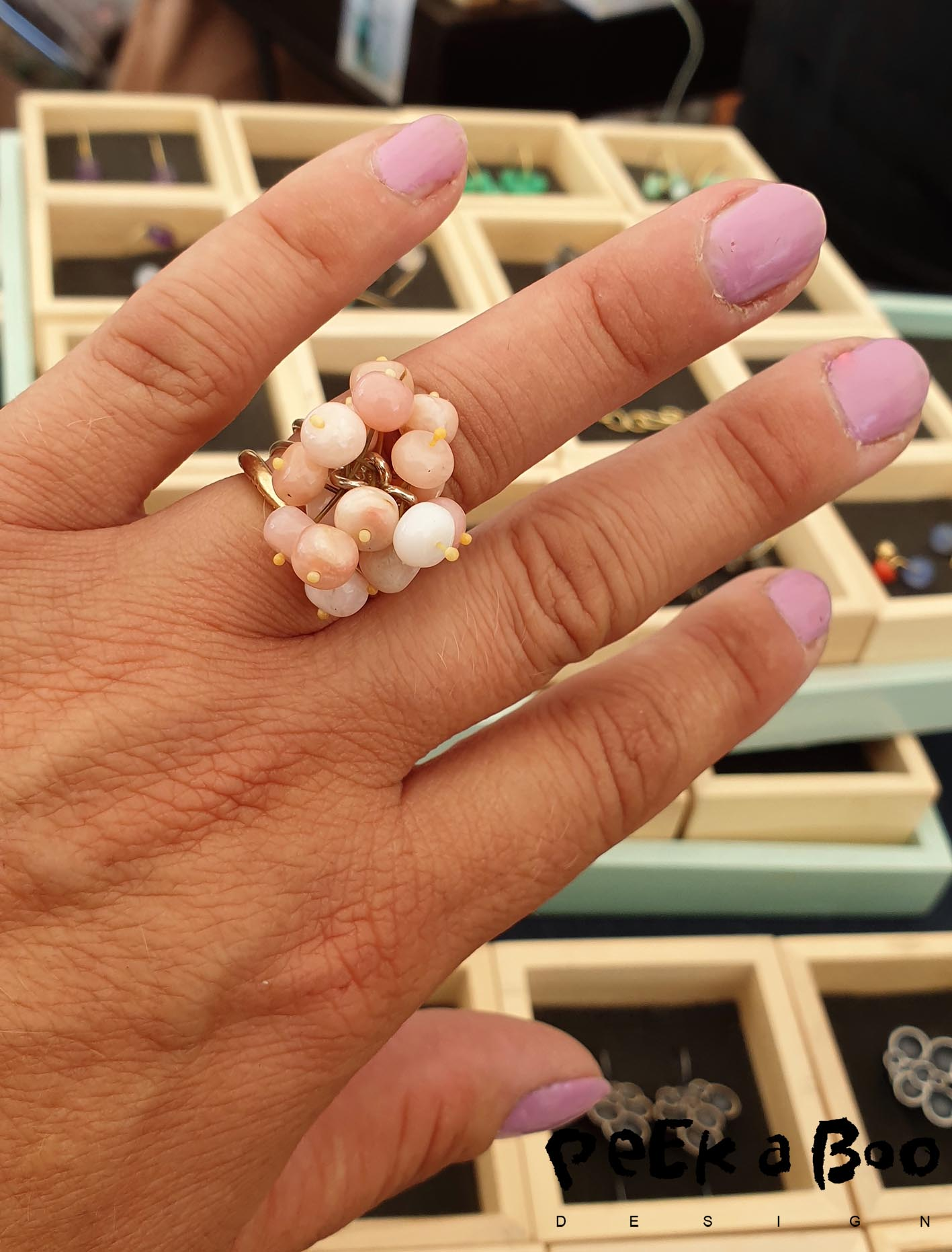 This ring is from Karen Fly that has the jewelleryshop in Copenhagen called no. 99.