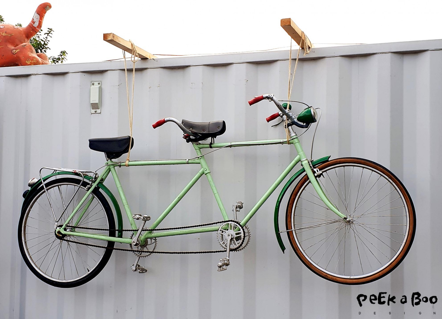 The perfect summerbike for two...a vintage tandem.