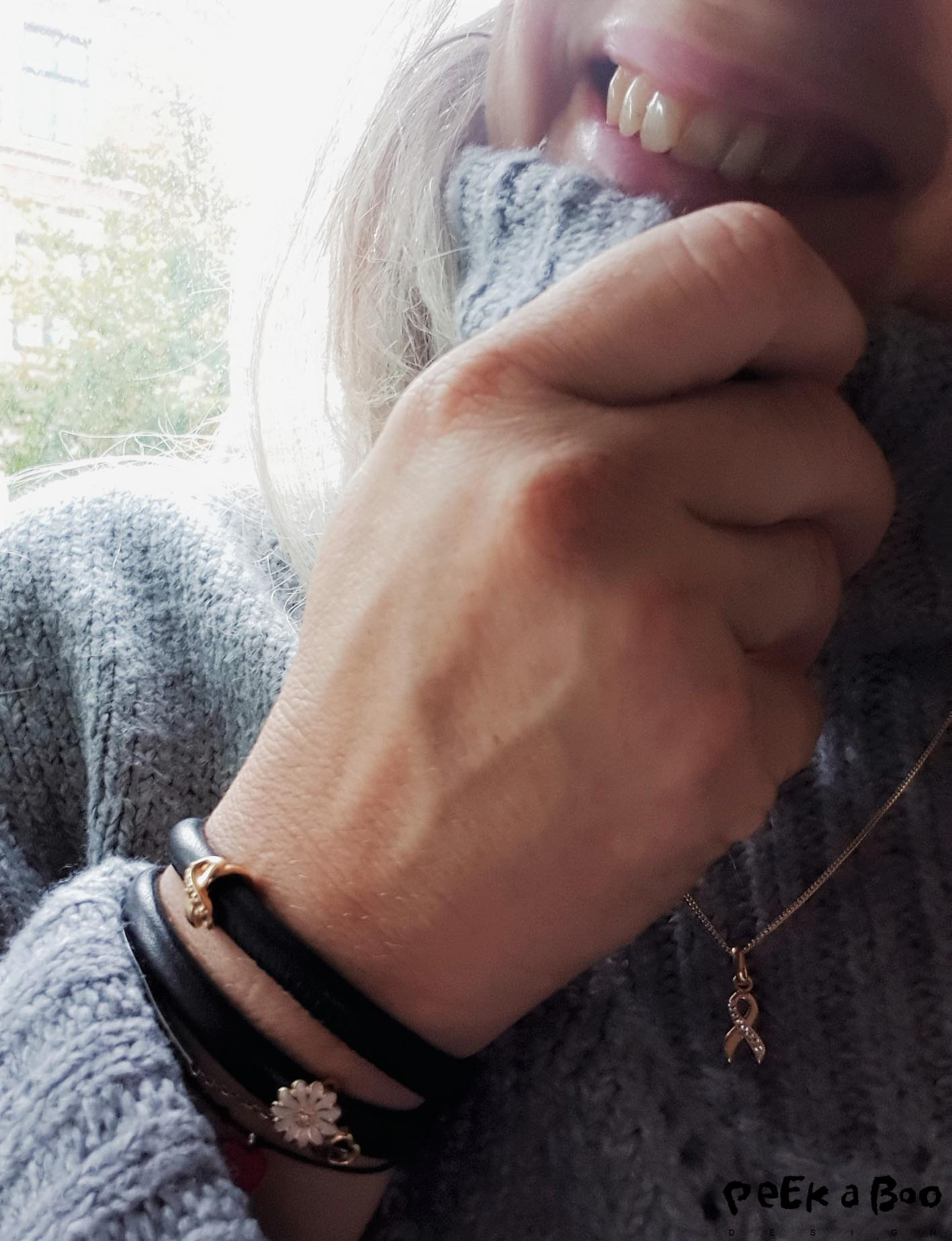 New jewellery from Christina jewelry that gives a share of the profit to the cancer research. Kræftens Bekæmpelse.