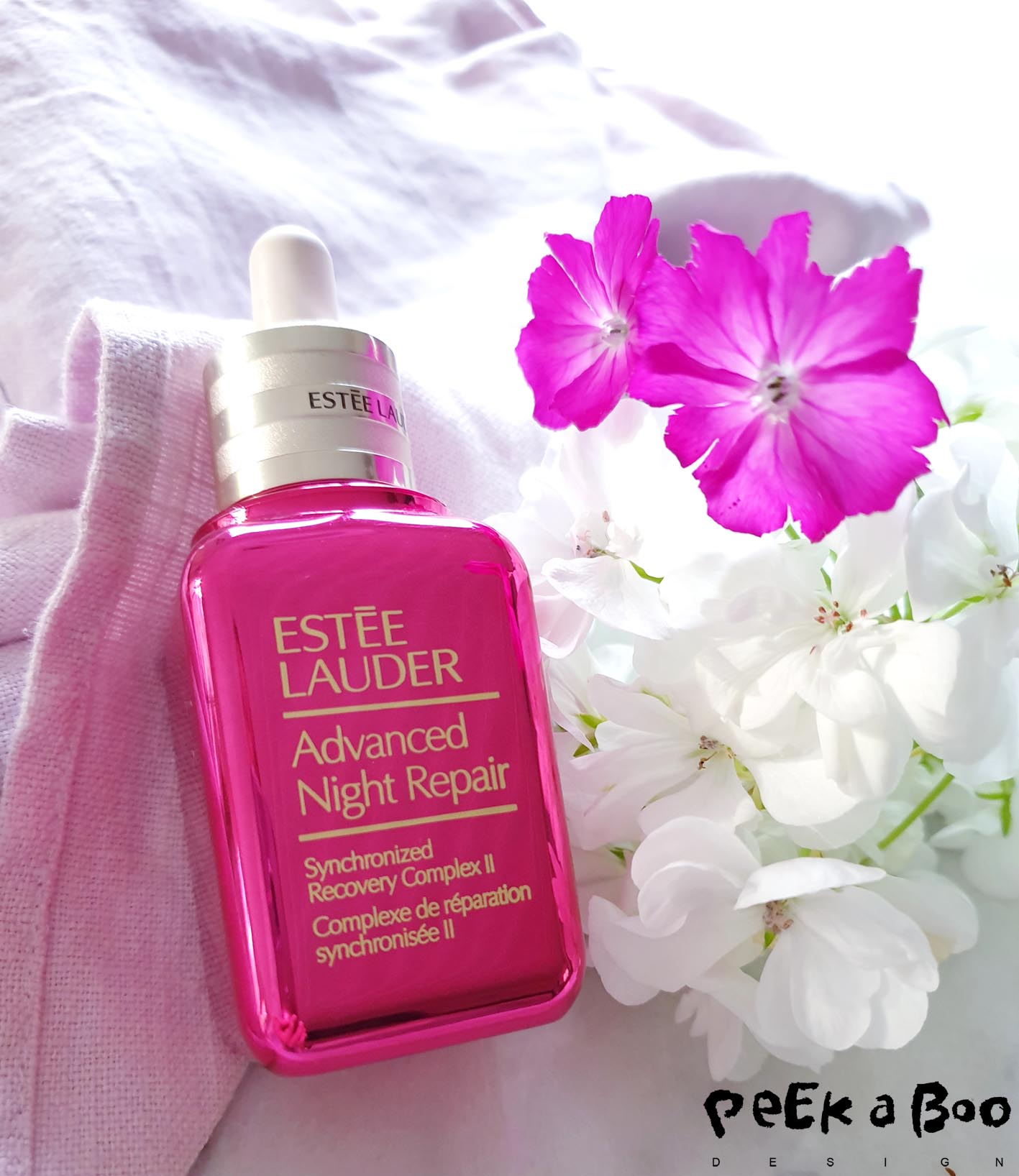 The advanced night repair is part of the Pink collection from Estée Lauder.