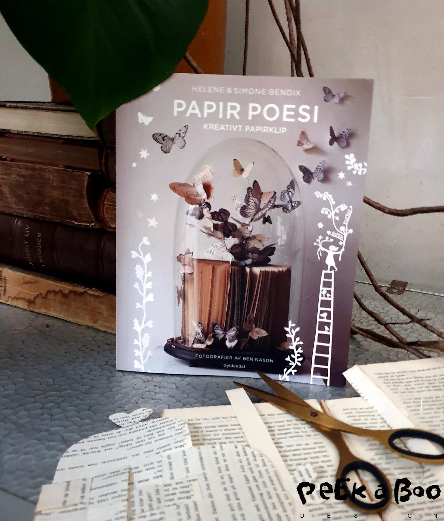 Papir poesi af Helene og Simone Bendix.