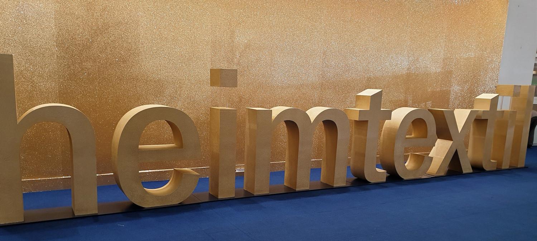 News from the textilfair, Heimtextil in Frankfurt.