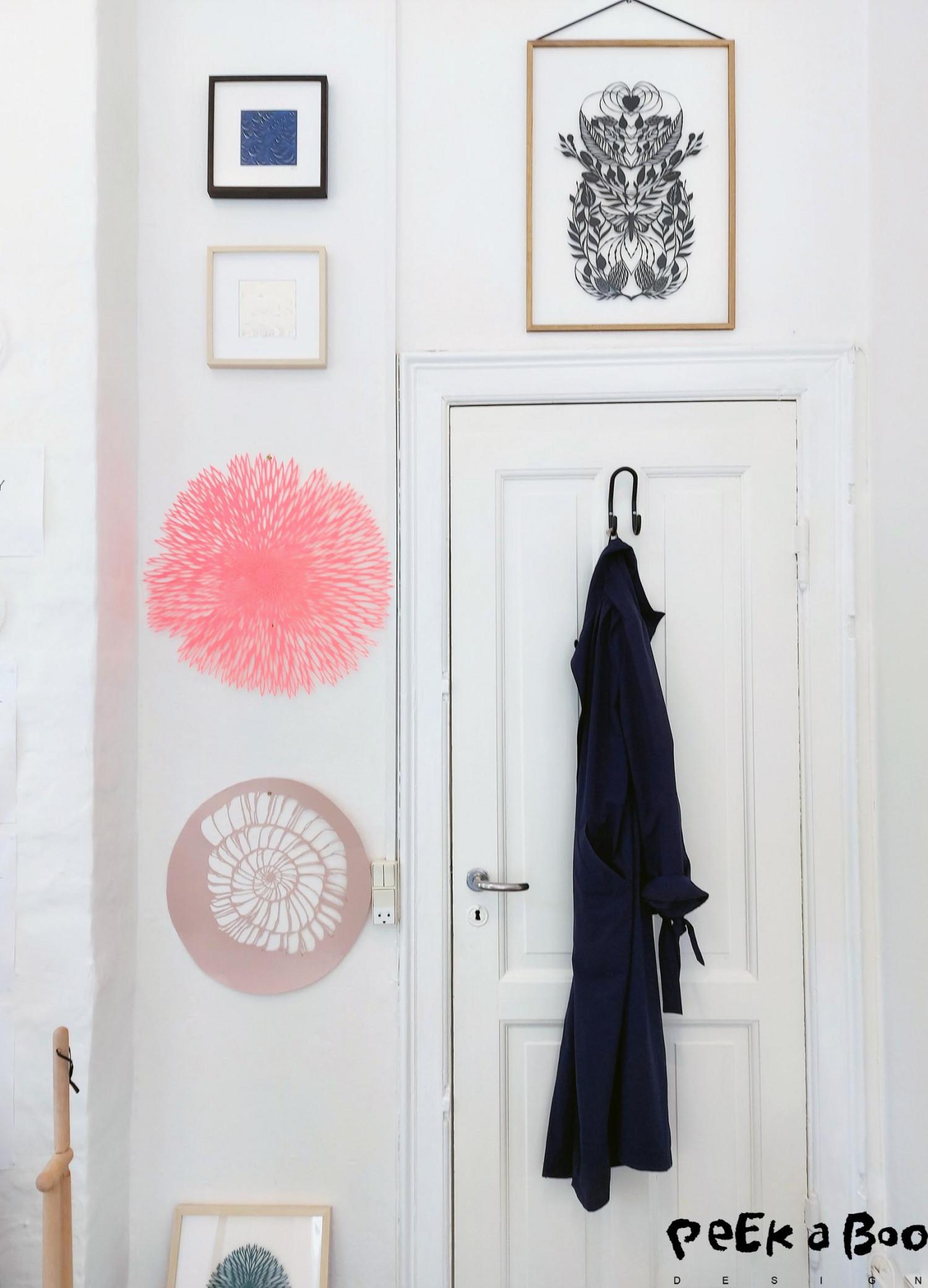 A glimpse into the studio of Vicki Zoé in centrale Copenhagen.