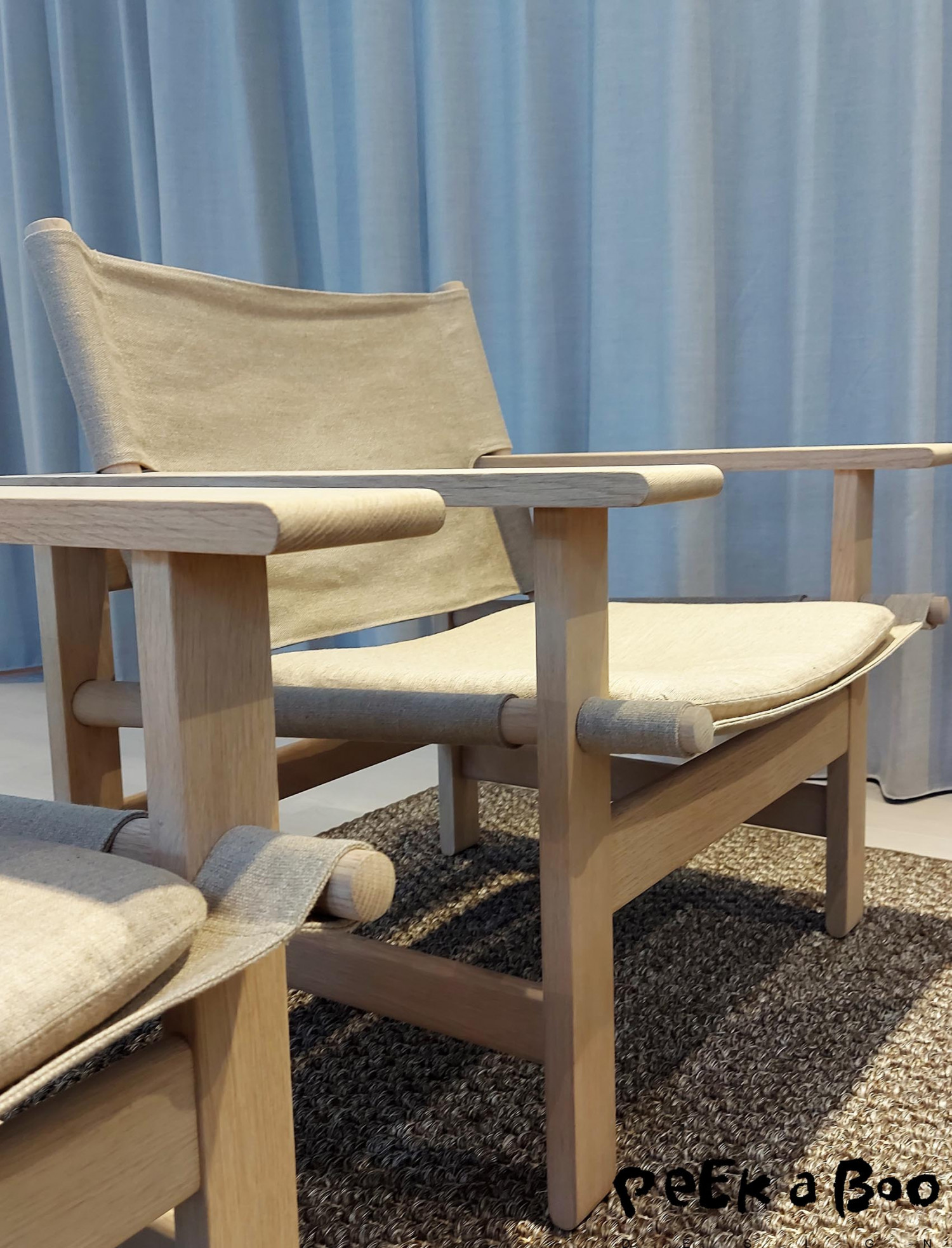 """And this Børge Mogensen chair, is definitely a """"must-have"""" in the summer cabin."""