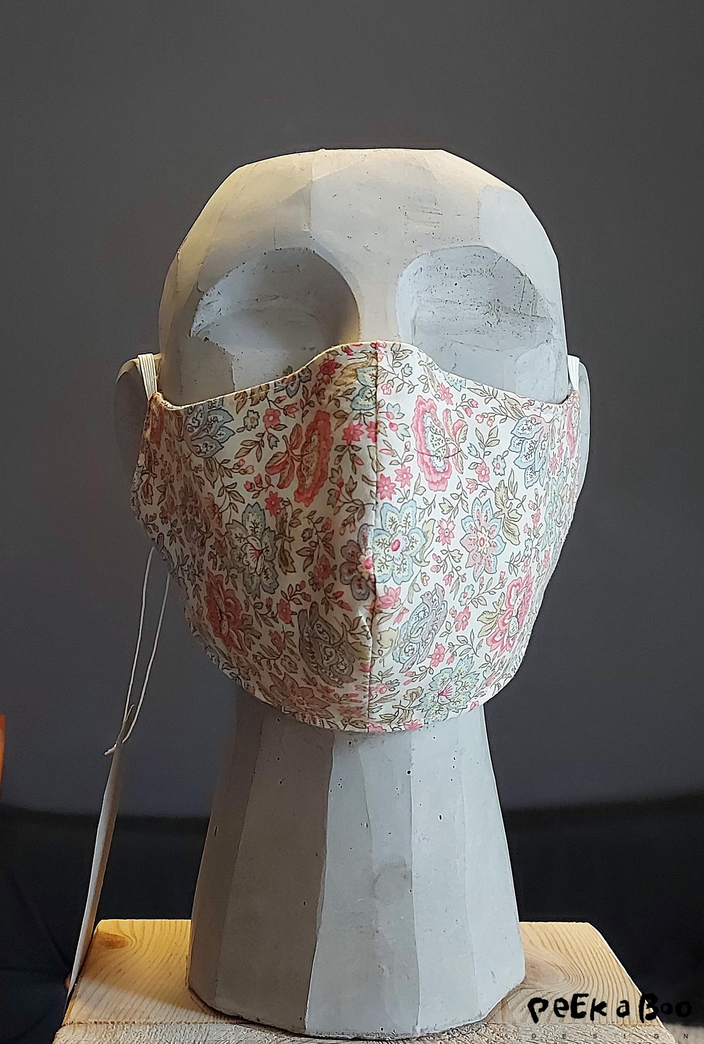 My favorite mask at the moment is made of Liberty fabric that used to be a pair of loose pants.