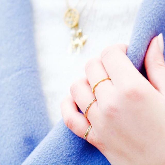 A styling of these perfect @hvisk rings! ???Captured by @lauraseligmann