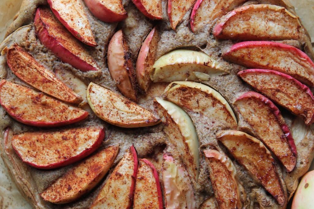 Sukkerfri og fedtfattig æblekage