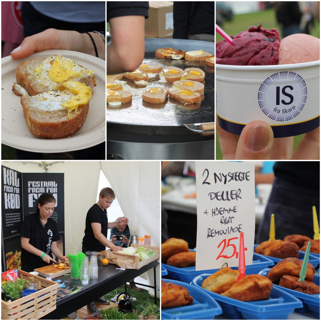 collage food festival