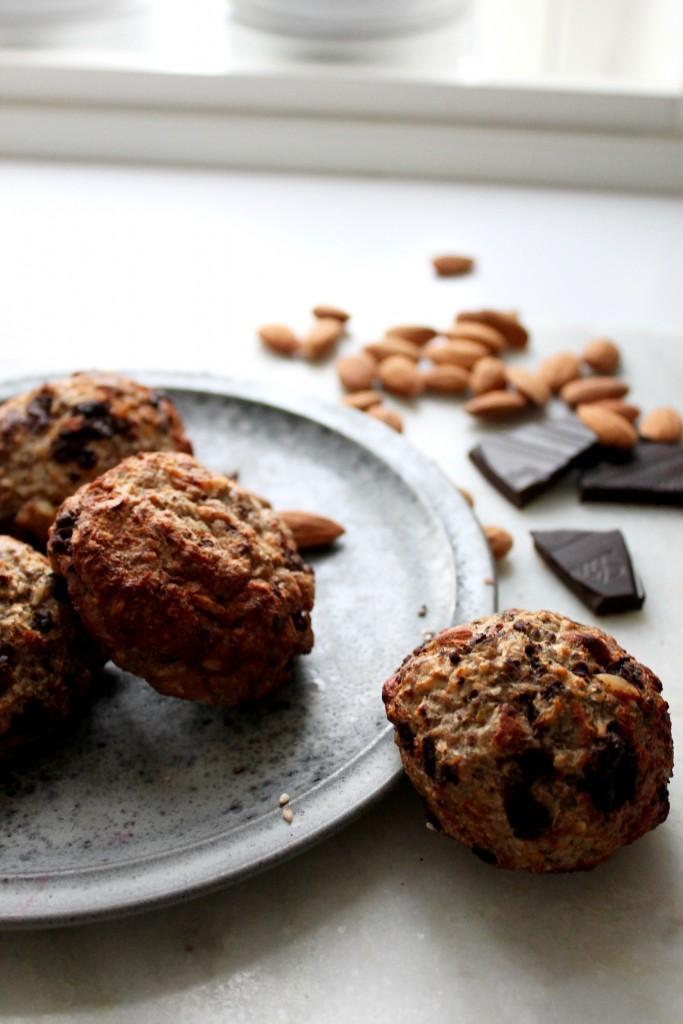 Sunde chokolade scones