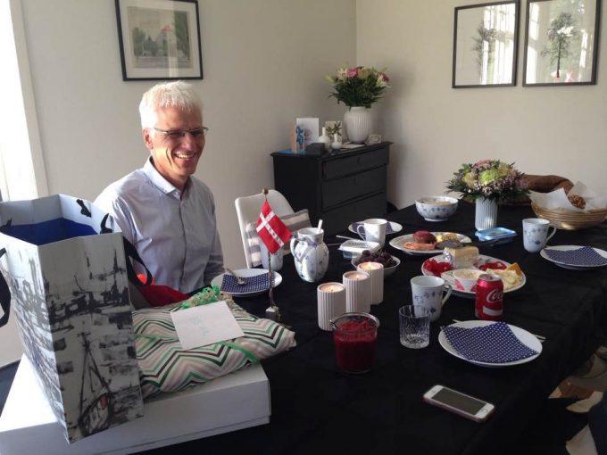 Min far fyldte 54 den 14. oktober - tillykke til ham!