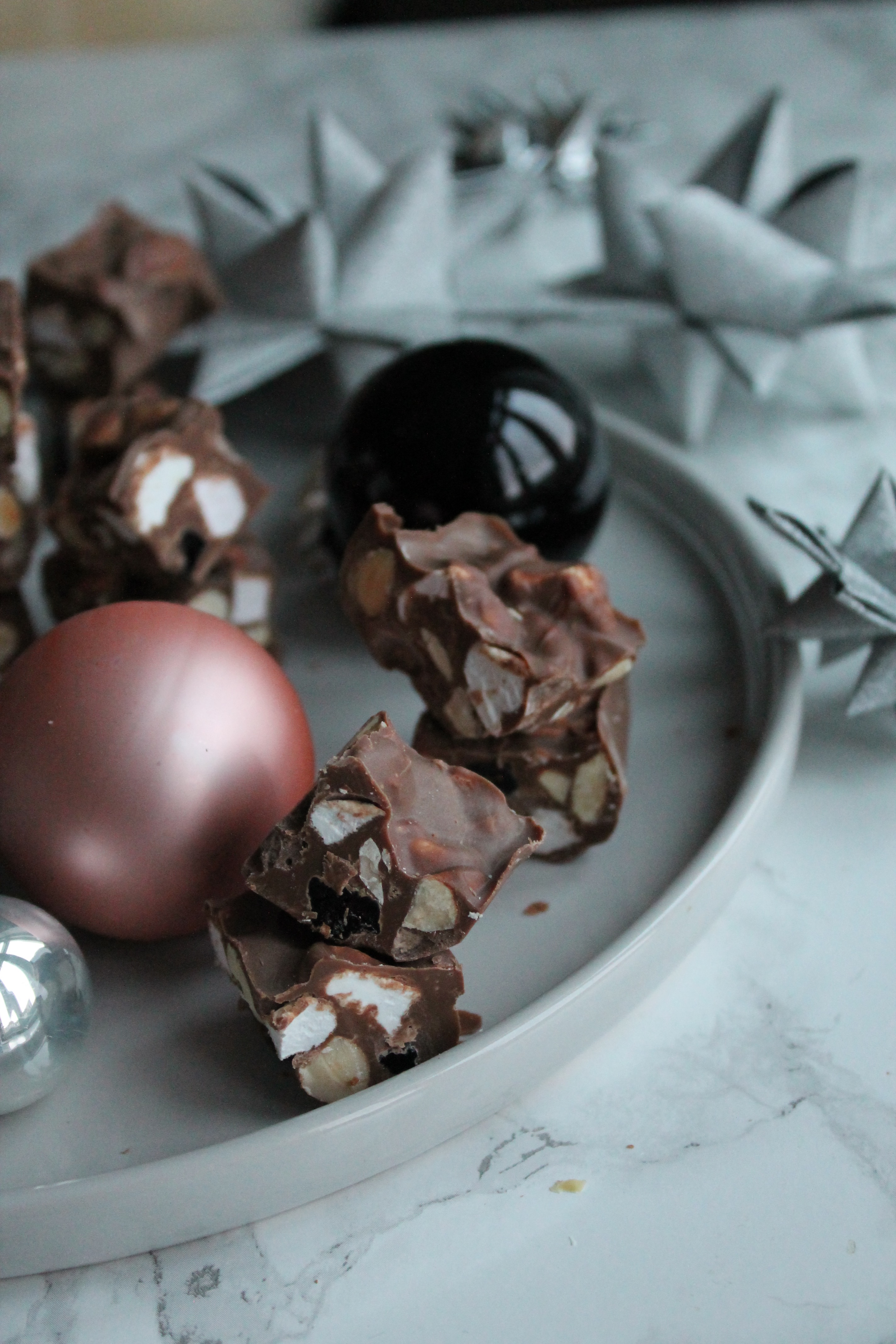 Rocky roads med mælkechokolade