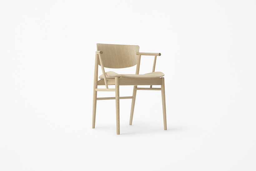 N01 Chair by Japanes Nendo for Fritz Hansen