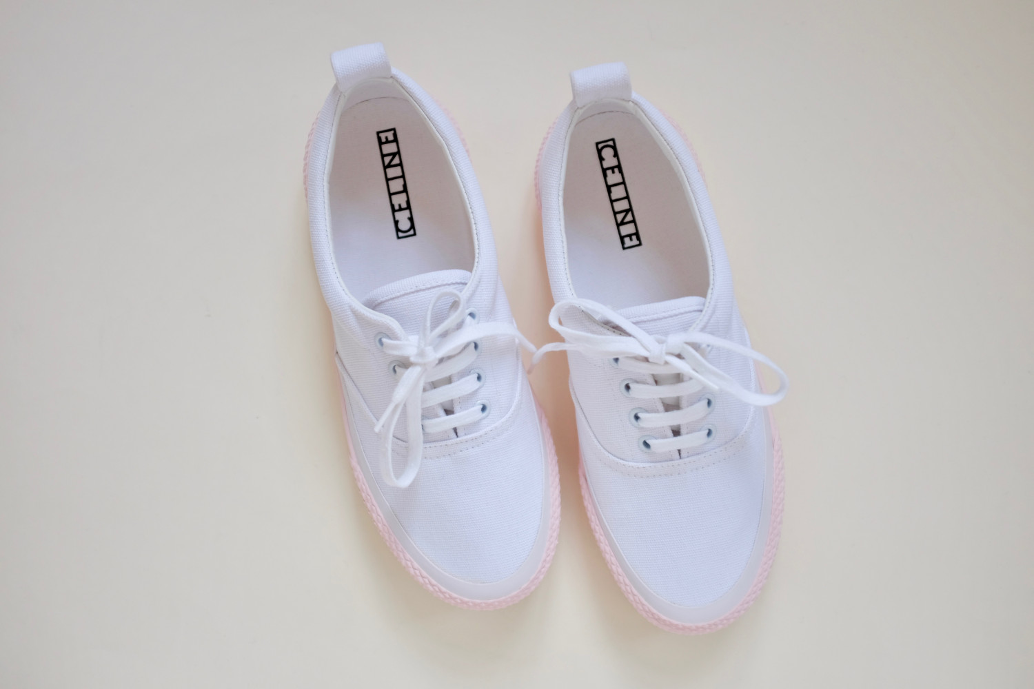 Candy Coloured Céline Sneakers