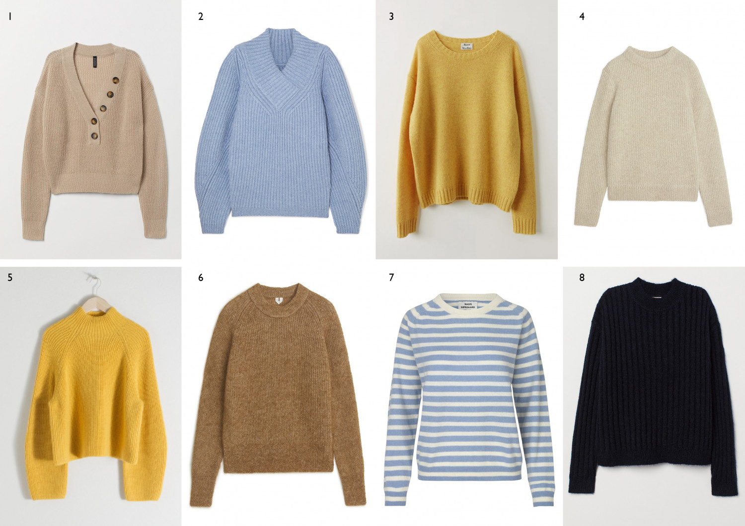 Cosy & Easy - soft sweaters in fresh colours