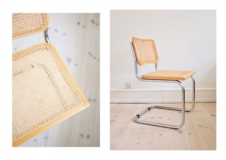 Vintage B32 Cesca Chair by Marcel Breuer